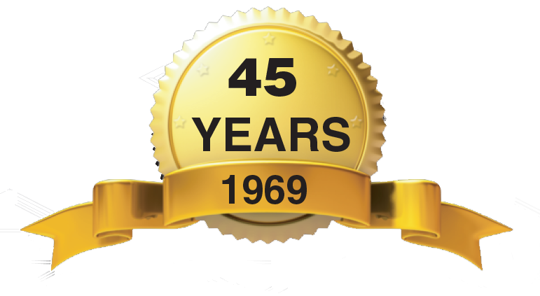 45 years ribbon
