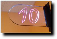 Edge Lit Acrylic Informational Signs